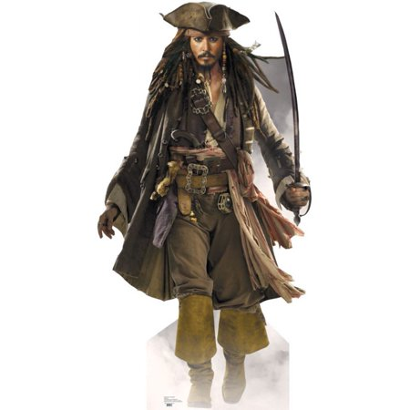 Advanced Graphics 690 Capt Jack Sparrow- 72