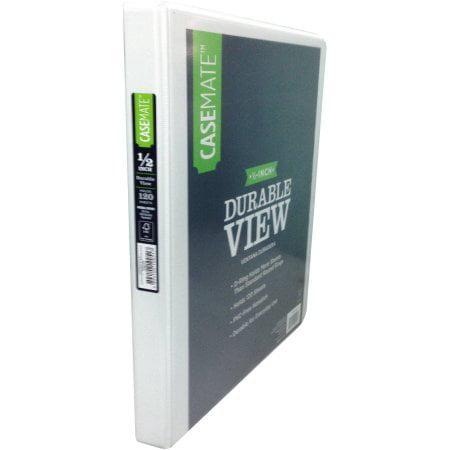 d3 casemate 1 2 inch durable binder morpho walmart com