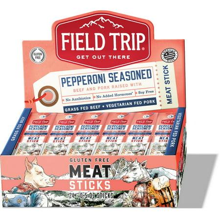 Pepperoni Sticks (Field Trip C0050BP9CUP Pepperoni Meat Stick 9-24-.5 Ounce)