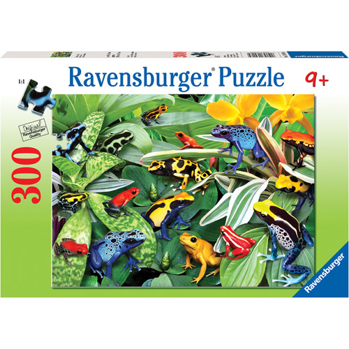 Ravensburger Friendly Frogs Puzzle, 300 Pieces