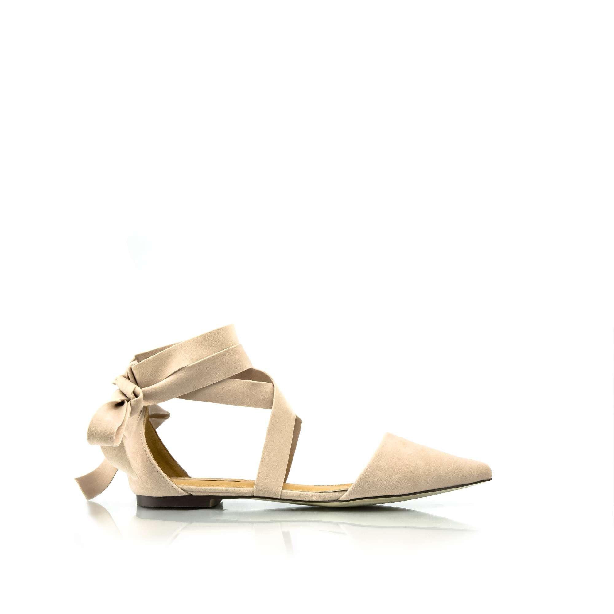 LOLA Ankle Wrap Flats
