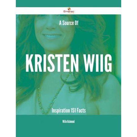A Source Of Kristen Wiig Inspiration - 151 Facts -
