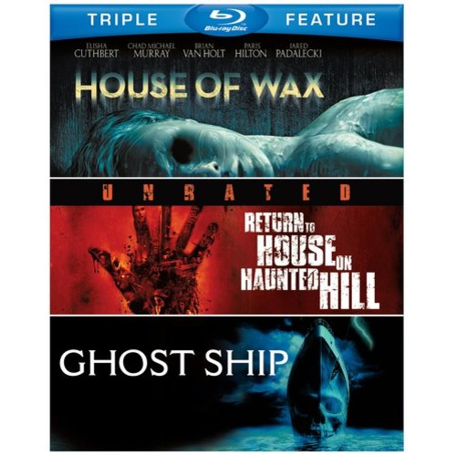 House Of Wax (2005) / Return To House On Haunted Hill / Ghost Ship (Blu-ray)