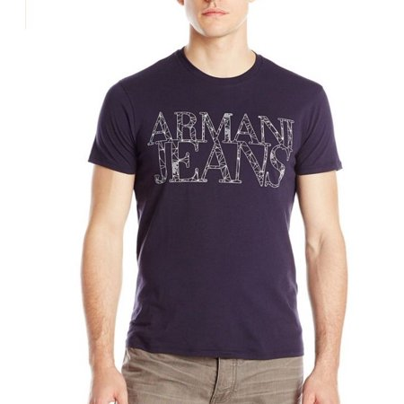 Armani Jeans Men's Web Print Logo
