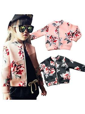 Girls' Clothing (newborn-5t) Outerwear Lot Of 4 Chillipop Youth Toddler Girls Hockey Varsity Bomber Jackets 3t & 4t