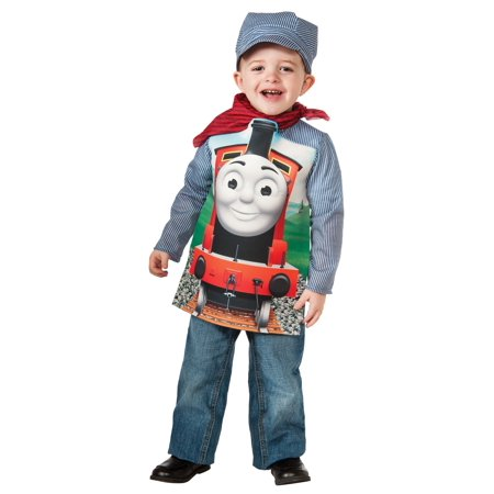 Thomas the Tank Deluxe James Train & Engineer Costume for Kids