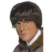"26"" Brown 1990's Style Men Adult Halloween Britpop Wig Costume Accessory - One Size"