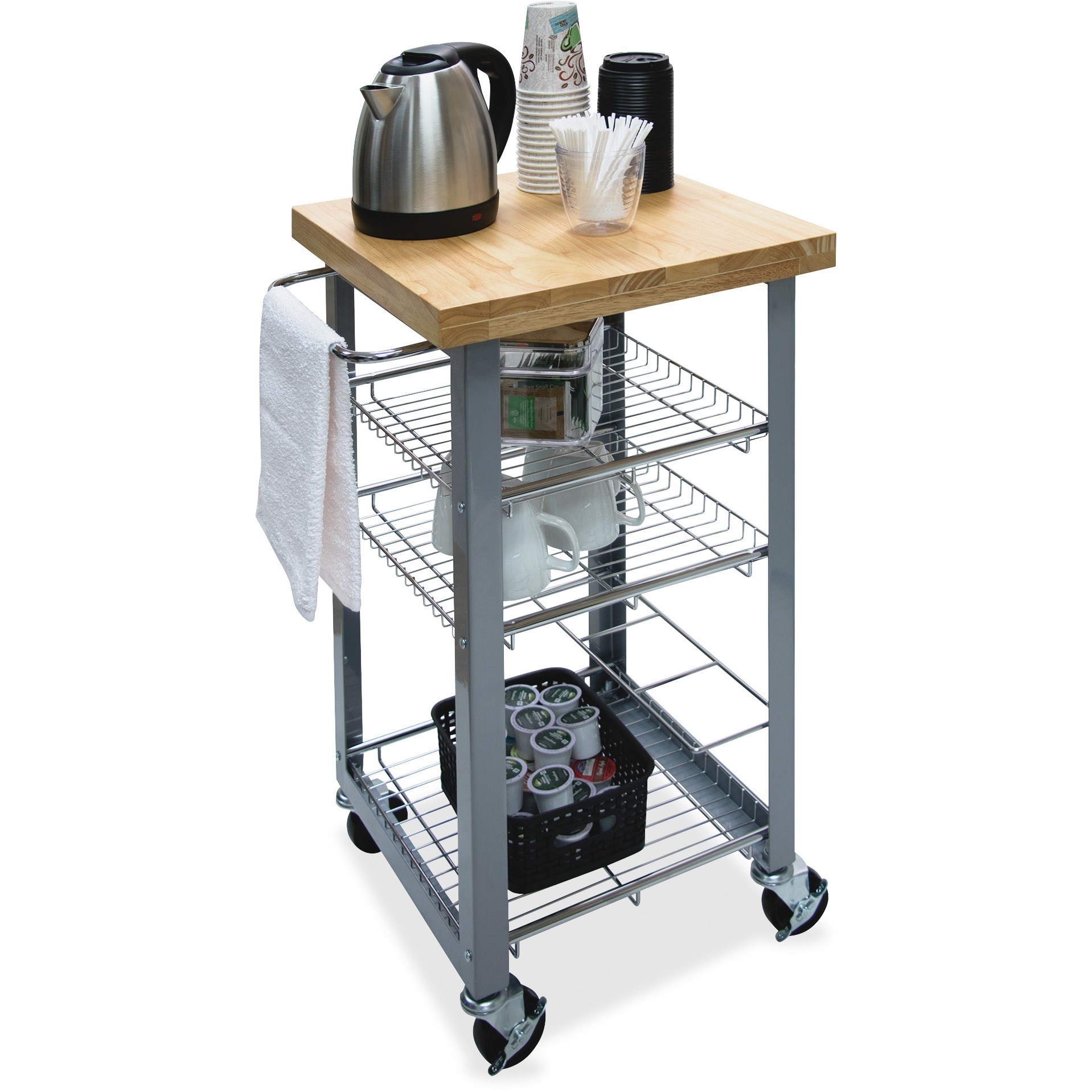 Vertiflex, VRTVF53038, Companion Serving Cart, 1 Each, Assorted