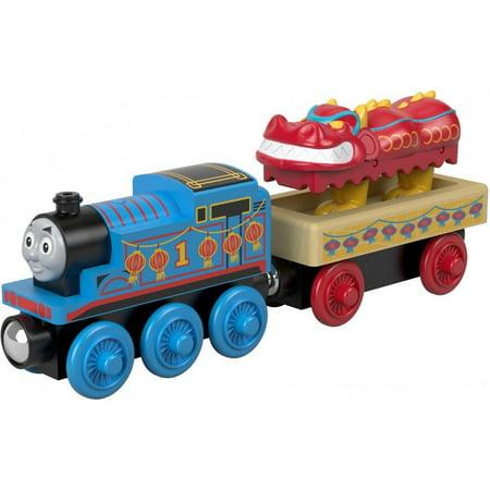 Thomas & Friends Wood Thomas Engine and Dragon Cargo Car