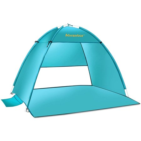 Beach Canopy Tent Upf 50 Sun Shade Shelter Pop Up By