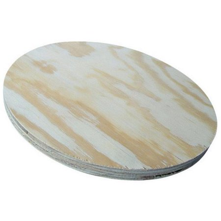 American Wood Round Plywood For Round Table Tops 11-3/4