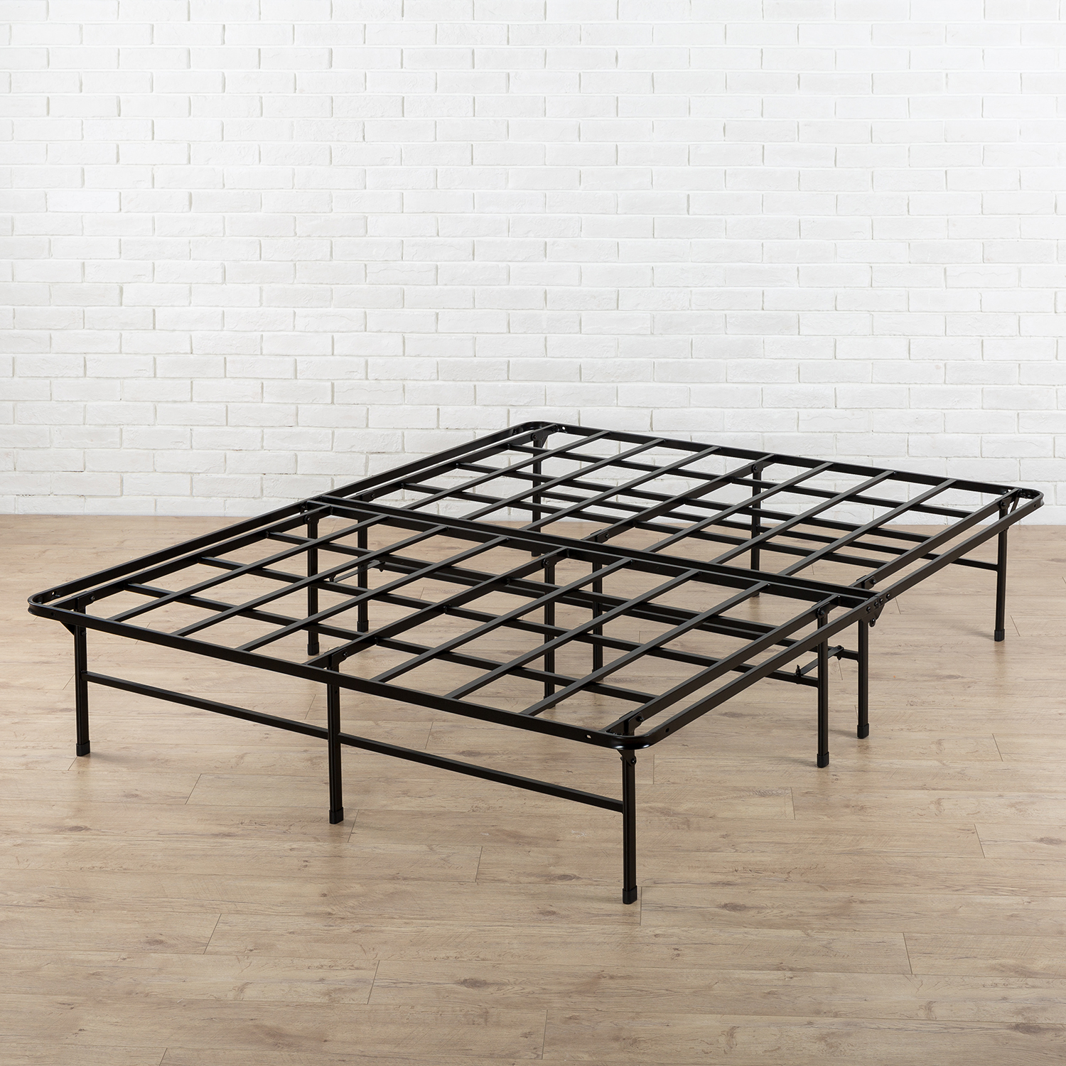 """Spa Sensations by Zinus 14"""" High Profile Foldable Elite Steel Smart Base Bed Frame with Under-Bed Strorage, Easy No Tools Assembly, Multiple Sizes"""
