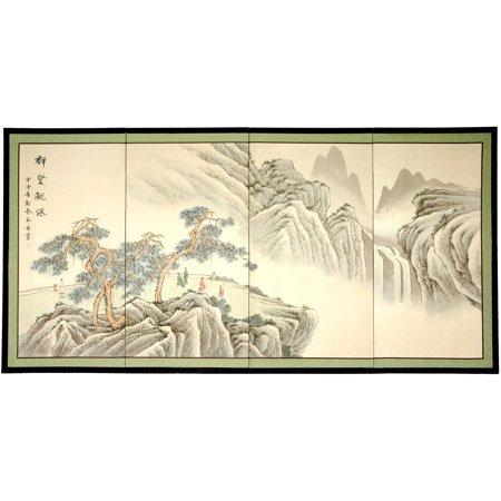 Mountain of Knowledge Silk Screen
