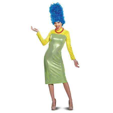 The Simpsons Marge Deluxe Adult Halloween Costume - Nelson Simpson Halloween