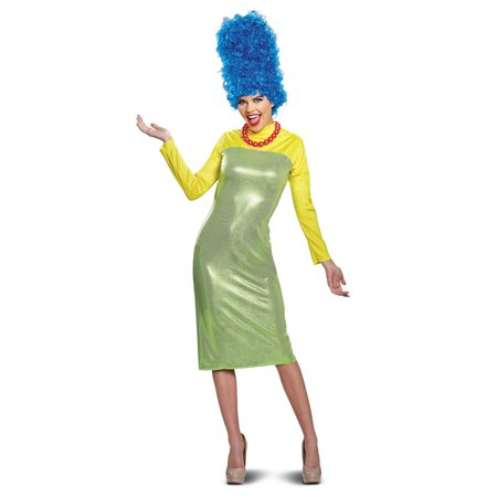 Simpson Halloween Costume (The Simpsons Marge Deluxe Adult Halloween)