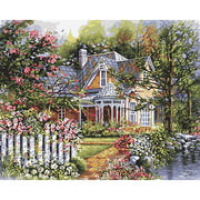 "Paint By Number Kit, 16""x20"", Victorian Garden"