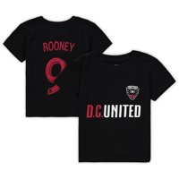 Wayne Rooney D.C. United Preschool Name & Number T-Shirt - Black