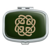 Celtic Knot Love Eternity Rectangle Pill Case Trinket Gift Box