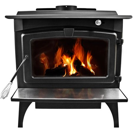 Pleasant Hearth 1,800 sq ft Wood Burning Stove with Blower, Medium,  LWS-127201 - Pleasant Hearth 1,800 Sq Ft Wood Burning Stove With Blower, Medium