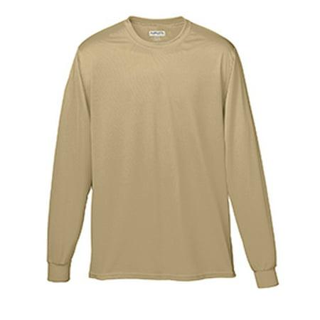 788 Ag 788 Wicking Ls Tee Shirt Vegas Gold L - image 1 de 1