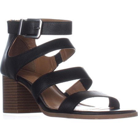 Womens SC35 Naomii Strappy Heeled Sandals, Black
