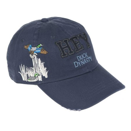 Officially Licensed Hey Ducks Hat (Navy), 100% Cotton By Duck Dynasty](Duck Dynasty Fake Beards For Sale)