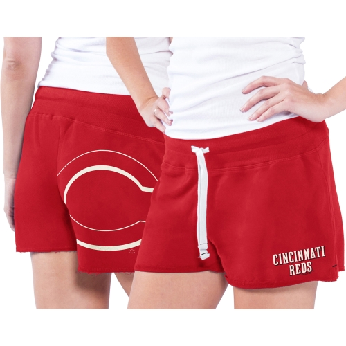 Cincinnati Reds Women's Base Hit Short Red by G-III LEATHER FASHIONS INC