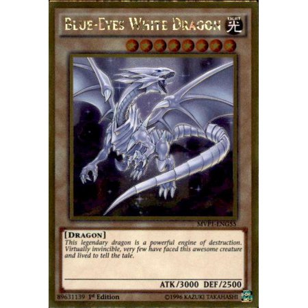 YuGiOh Dark Side of Dimensions Gold Edition Blue-Eyes White Dragon