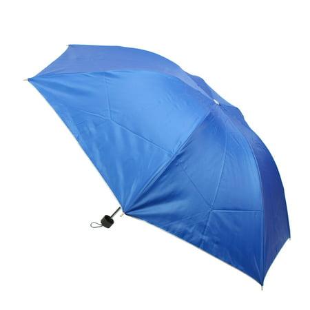 Unique Bargains Outdoor Sunny Rainy Day Rain Sunshine Resistant Protective Folding Umbrella