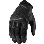 Icon Superduty 2 Leather Gloves Black