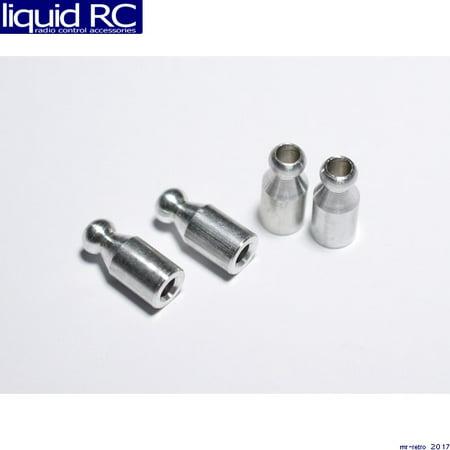 Hot Racing TDB328 8mm Offset Aluminum 5mm Ball Shock (Aluminum Shock Ball)