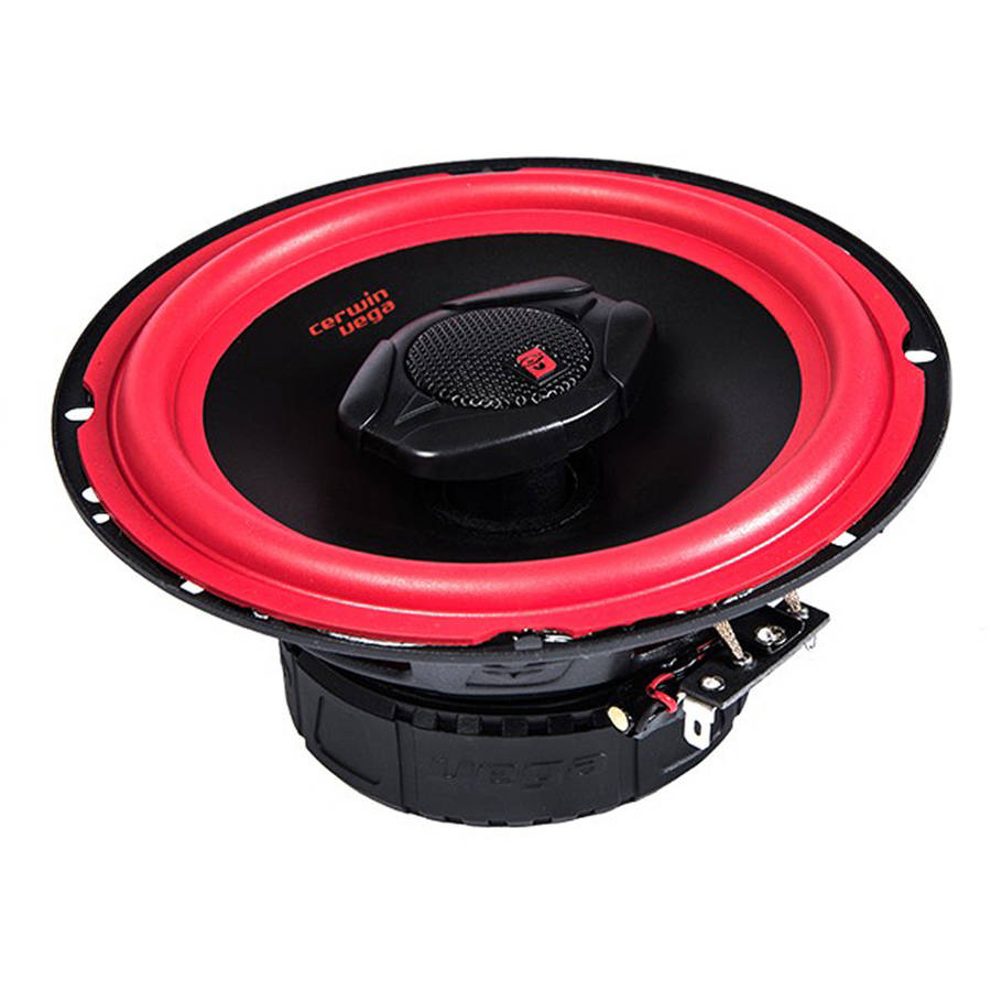 "Cerwin-Vega Mobile V465 Vega Series Coaxial 2-Way 6.5"" Speakers, 400W Max"
