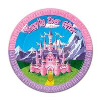 The Beistle Company Princess Paper Dessert Plate