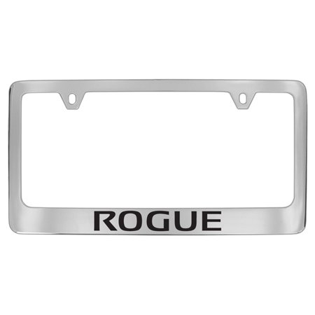 Nissan Rogue Chrome Plated Metal License Plate Frame Holder ()