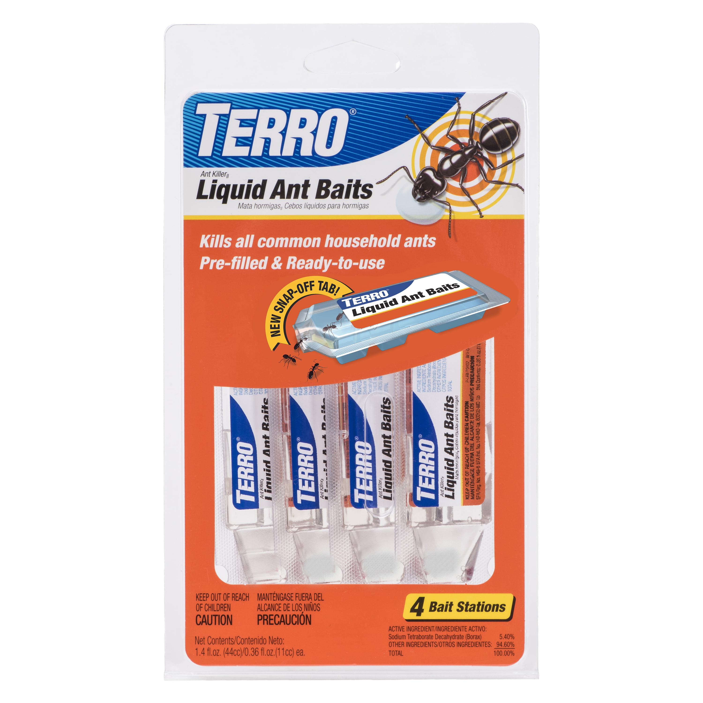 Terro Liquid Ant Baits 0 36 Oz 4 Ct