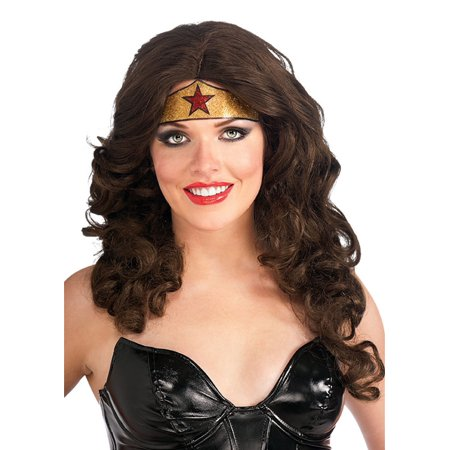 Wonder Woman Crown Tattoo Adult Halloween Accessory