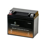 Chrome Battery Ytx12-Bs Power Sports Battery Replaces Gtx12-Bs M3Rh2S 740-1866 44016 Es12Bs