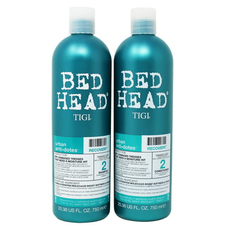 Tigi Bed Head Urban Anti+Dotes Damage Level 2 Recovery Shampoo and Conditioner, 25.36 fl oz, 2