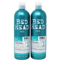 Tigi Bed Head Shampoo and Condtioner Urban Anti+Dotes Damage Level 2 Recovery Shampoo and Conditioner, 25.36 fl oz, 2 pack