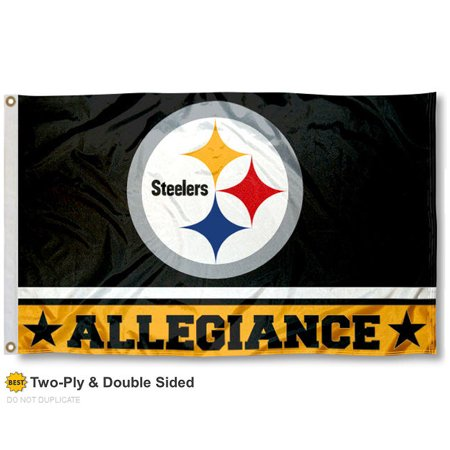 Pittsburgh Steelers Allegiance Two Sided Flag