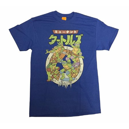Teenage Mutant Ninja Turtles Japanese 80's Adult T-Shirt - Tmnt Shirts For Adults