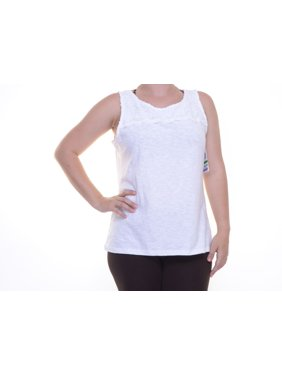 56655769f66f7b Product Image Charter Club Bright White Top Blouse Sleeveless Size XL NWT -  Movaz
