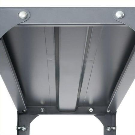Safco 36 x 18 Commercial 6 Shelf Kit in Dark Grey Finish - image 3 de 4