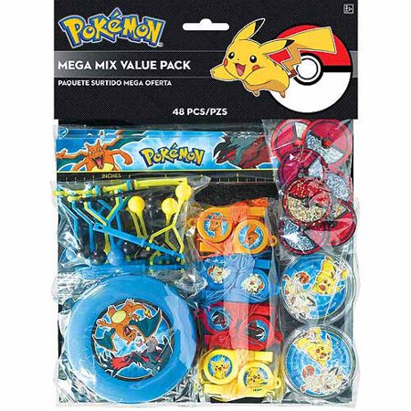 Pikachu and Friends Favor Set - Birthday Pikachu