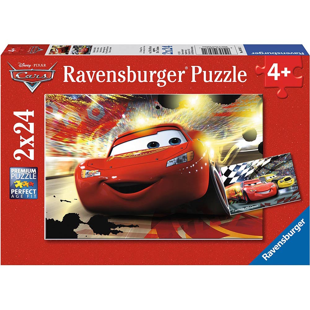 Cars Grand Entrance 24 Piece Puzzle 2-Pack