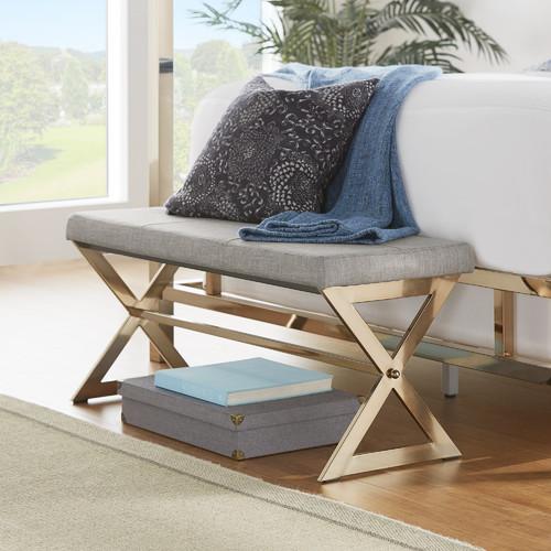 Kingstown Home Silvestre Upholstered Bedroom Bench