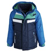 4df256103730 ROTHSCHILD - Rothschild Little Boys Down Alternative Bubble Snowsuit ...