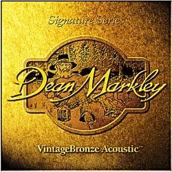 Dean Markley Signature Vintage Bronze Acoustic