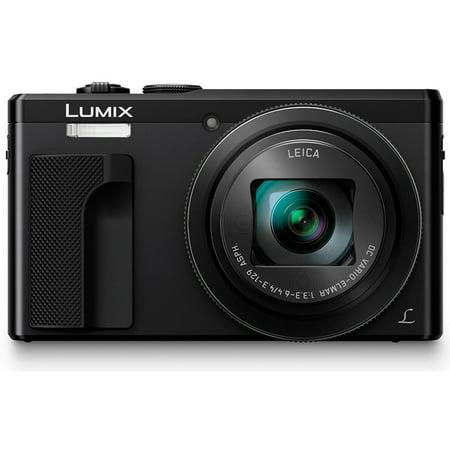 Panasonic ZS60 LUMIX 4K 18 MP Digital Camera with Wi-Fi - Black
