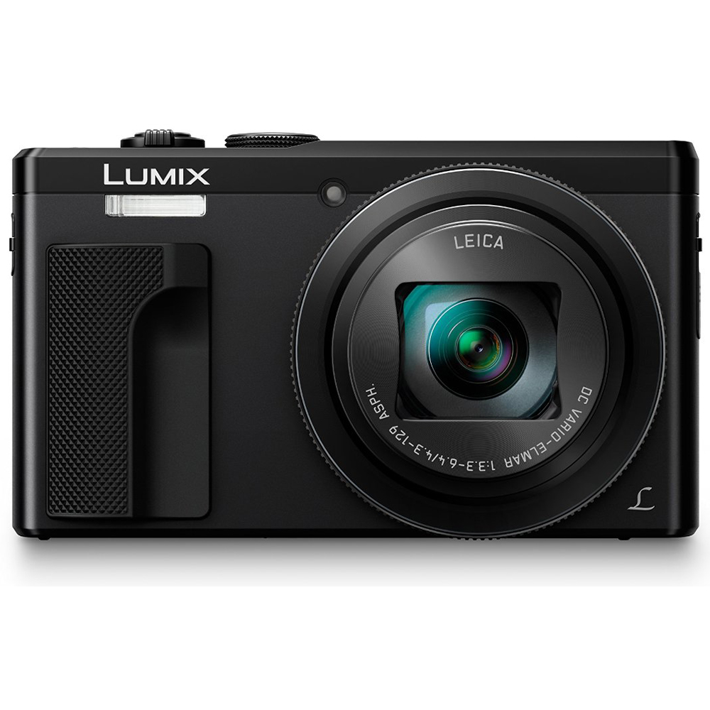 Panasonic ZS60 LUMIX 4K 18 MP Digital Camera with Wi-Fi - Black (DMC-ZS60K)
